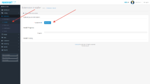 Opencart установка модуля XD Admin Filter