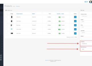 OpenCart - модуль XD Admin Filter